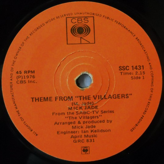 The Villagers Theme - Mick Jade