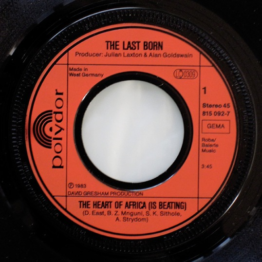The Heart Of Africa (Is Beating) – The Last Born