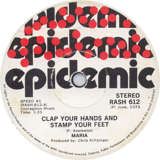 Clap Your Hands And Stamp Your Feet - Maria