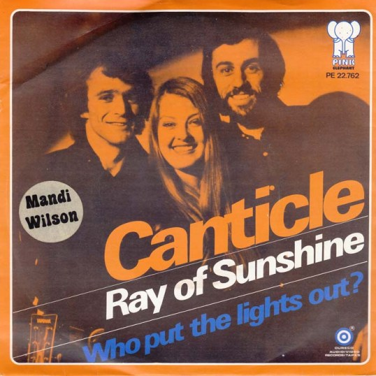 Ray Of Sunshine - Canticle