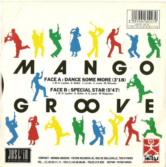 Mango Groove - Dance Sum More