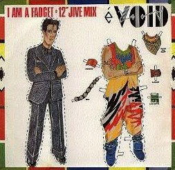 "I Am A Fadget (12"" single) (1984) WEA, WIM 415"