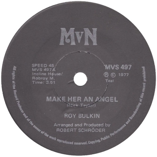 Make Her An Angel - Roy Bulkin