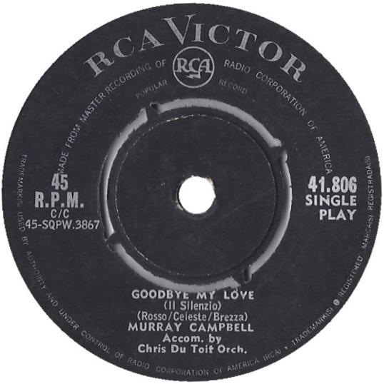 Murray Campbell - Goodbye My Love