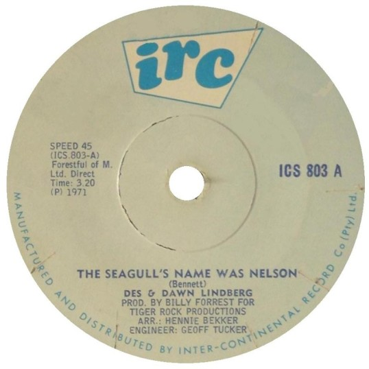 The Seagull's Name Was Nelson - Des & Dawn Lindberg