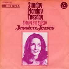 Sunday, Monday, Tuesday - Jessica Jones