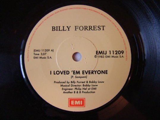 I Loved 'Em Everyone - Billy Forrest