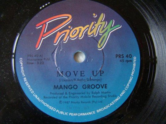 Move Up - Mango Groove