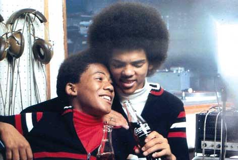 Jonathan Butler with Little Ronnie Joyce