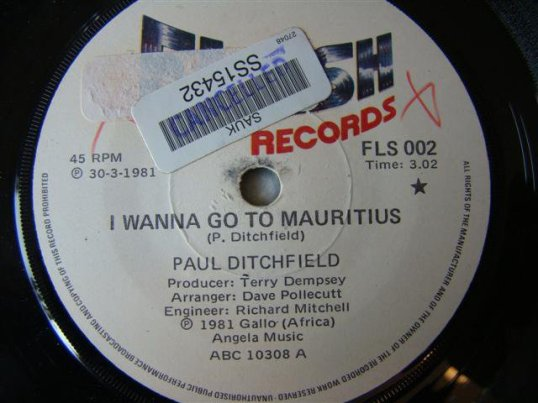 I Wanna Go To Mauritius - Paul Ditchfield