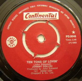 Ten Tons Of Loving - Johnny Collini