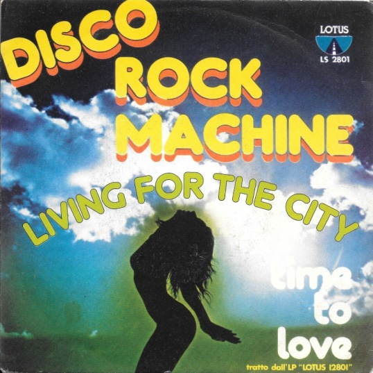 Living For The City - Disco Rock Machine