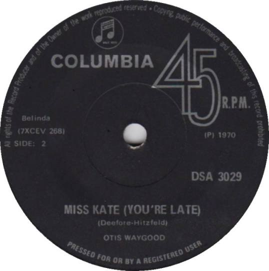 You're Late Miss Kate - Otis Waygood Blues Band