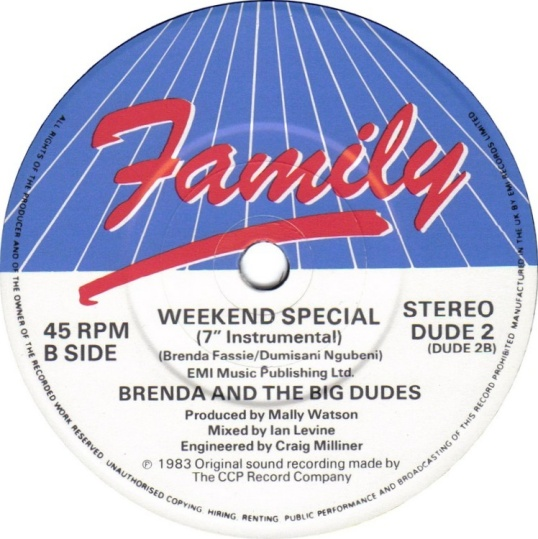 Weekend Special – Brenda & The Big Dudes