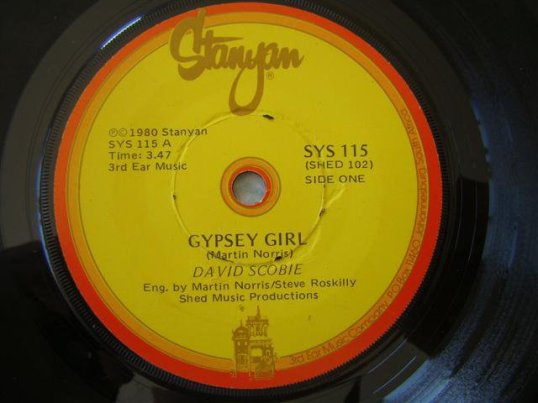 Gypsy Girl – David Scobie