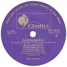 Santa Maria – Alan Garrity
