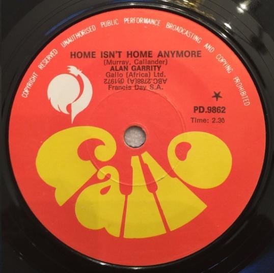 Home Isn't Home Anymore – Alan Garrity