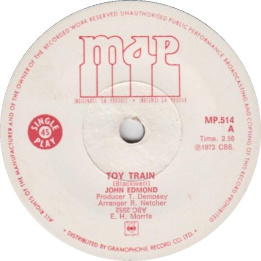 Toy Train – John Edmond