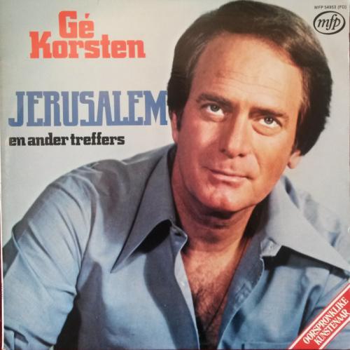 Jerusalem – Gé Korsten