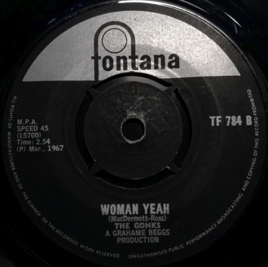 Woman Yeah – The Gonks