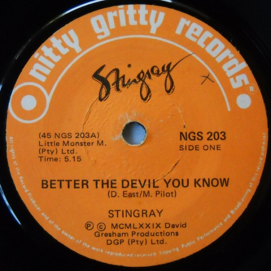 Better The Devil You Know - Stingray