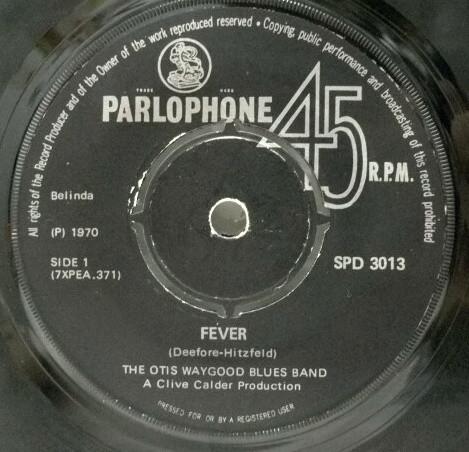 Fever – Otis Waygoods Blues Band
