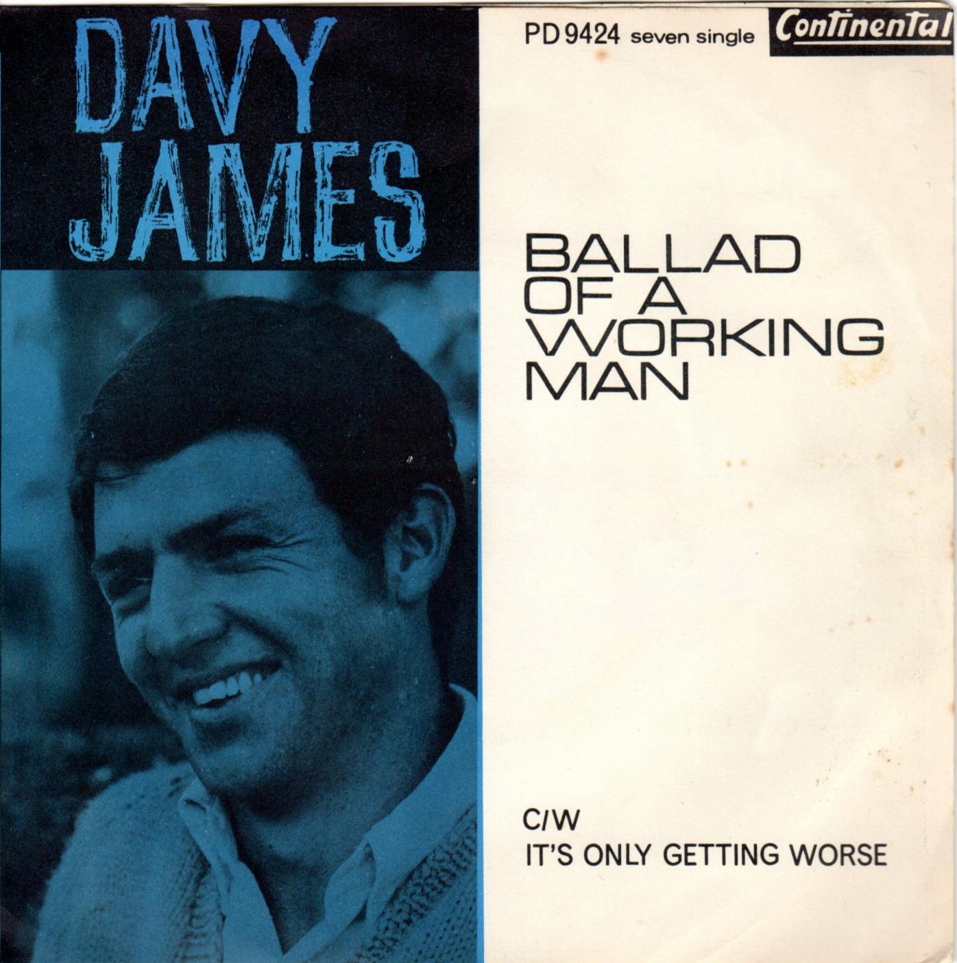Ballad Of A Working Man – Davy James